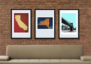 Shop Rep Your Hood: City & Team Posters