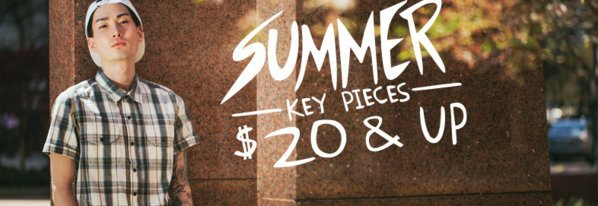 Shop Summer Key Pieces by Ezekiel