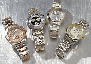 Modern Metals: Two-Tone Watches