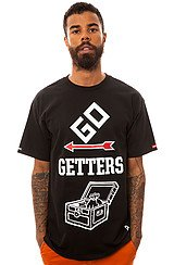The Go Getters Tee in Black