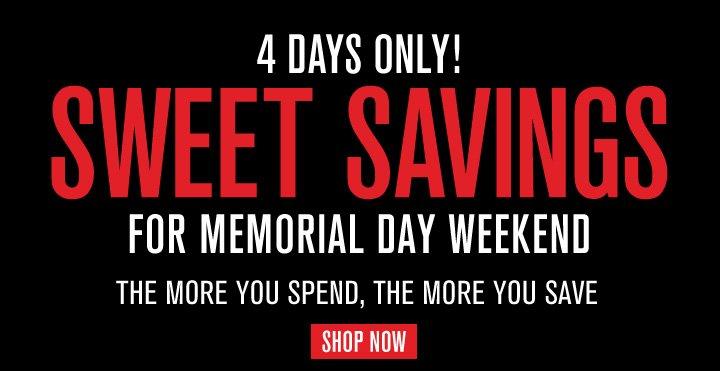 4 Days Only! Sweet Savings
