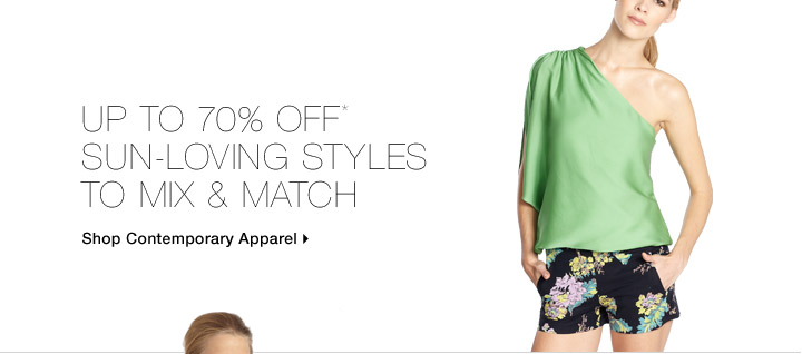 Up To 70% Off* Sun-Loving Styles to Mix & Match