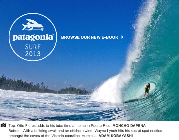 Patagonia Surf 2013 - Browse our new e-book