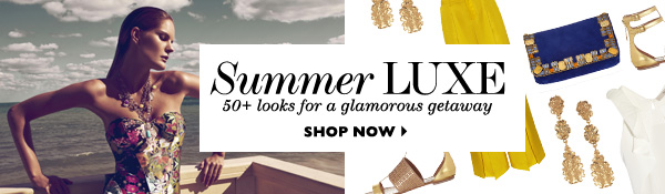 SummerLuxe 50+ looks for a glamorous getaway