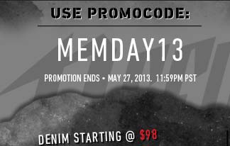 Denim Starting @ $98