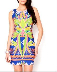 Bird Of Paradise Dress
