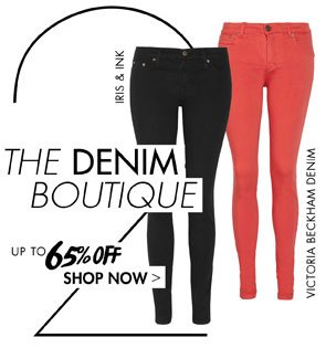 THE DENIM BOUTIQUE UP TO 65% OFF