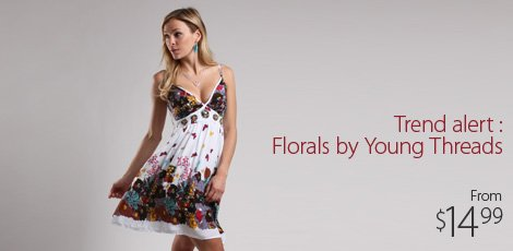 Trend alert - florals by Young Threads