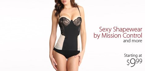 Sexy Shapewear by Mission Control and more