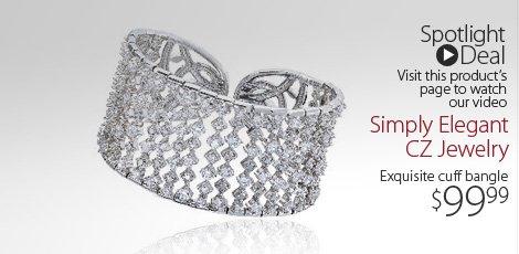 Simply Elegant CZ jewelry