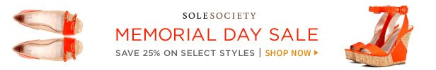 Shop The Sole Society Memorial Day Sale