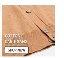 Cotton cardigans