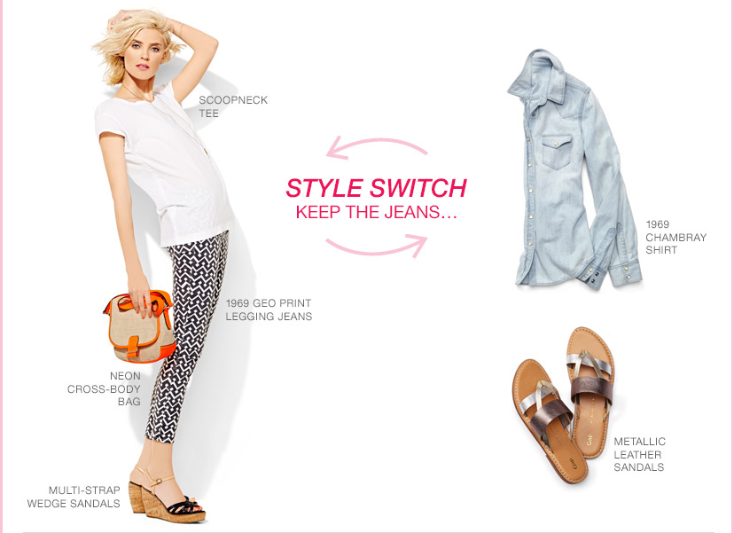 STYLE SWITCH | KEEP THE JEANS...