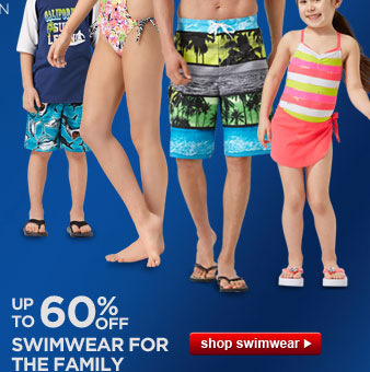 UP TO 60% OFF SWIMWEAR FOR THE FAMILY | shop swimwear