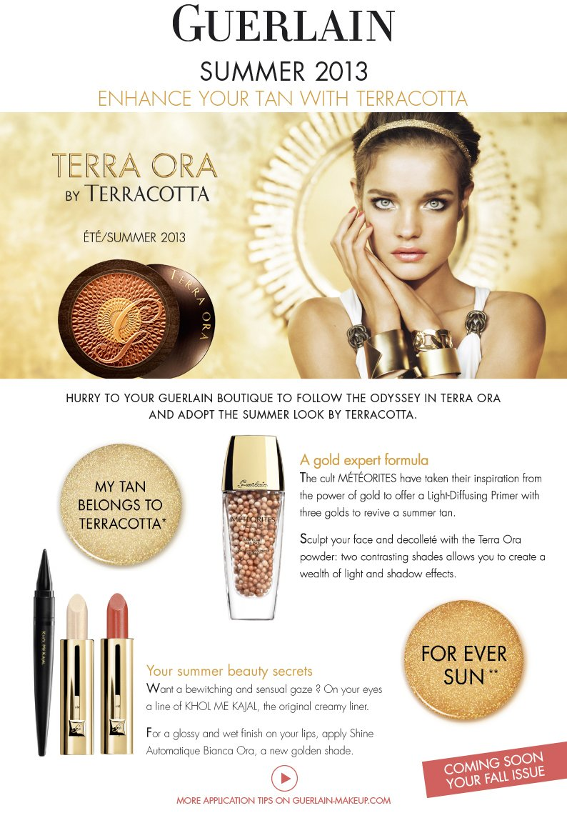 Enhance your tan with Terracotta