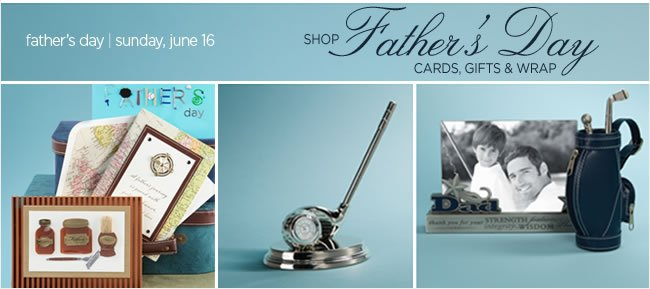 Gifts For Dad!  Father's Day is Sunday, June 16