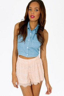 LACE YOURSELF SHORTS 33