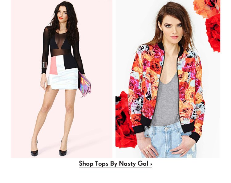 Shop Tops By Nasty Gal