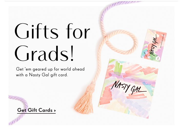 Gift Cards For Grads!