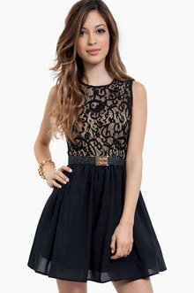 LACE UP TOP DRESS 26