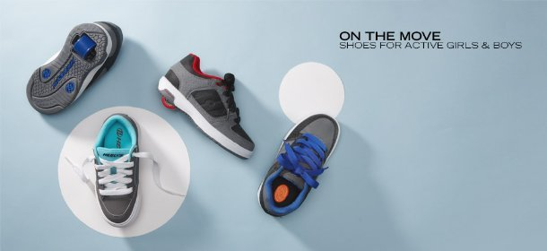 ON THE MOVE: SHOES FOR ACTIVE GIRLS & BOYS, Event Ends May 28, 9:00 AM PT >