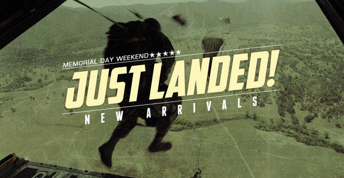 Just Landed! New Arrivals