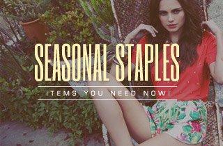Seasonal Staples