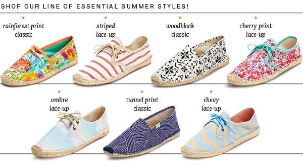 Shop Essential Summer Styles!