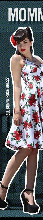 HELL BUNNY ROSE DRESS