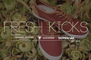 Fresh Kicks: Ft. Generic Surplus, Fallen, SUPRA, & More