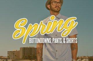 Spring Buttondowns, Pants, & Shorts