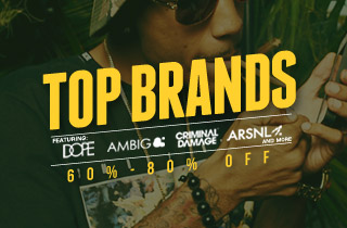 Top Brands: 60%-80% Off