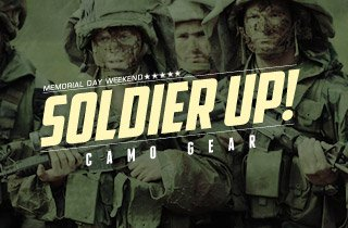 Soldier Up! Hottest Camo Gear