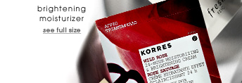 brightening moisturizer. see full size