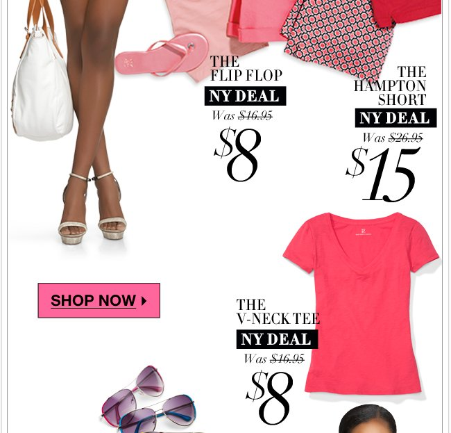 40% off EVERYTHING + tons of NY Deals + free shipping! Shop NOW
