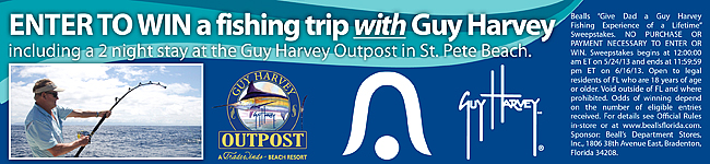 Win a fishing trip with Guy Harvey