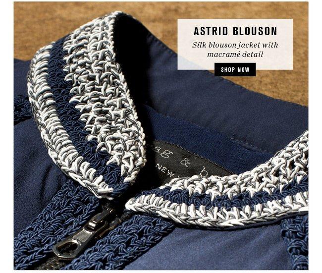Astrid Blouson