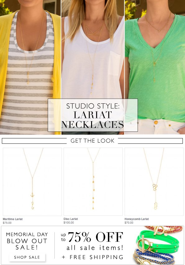 Studio Style | Lariat Necklaces