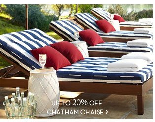UP TO 20% OFF CHATHAM CHAISE