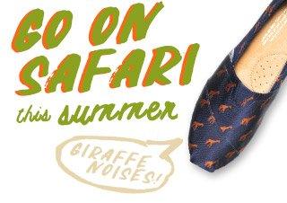 Go on safari this summer