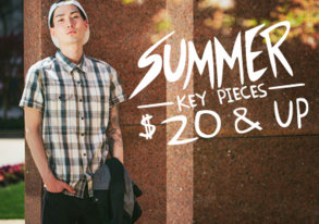 Shop Summer Key Pieces by Ezekiel