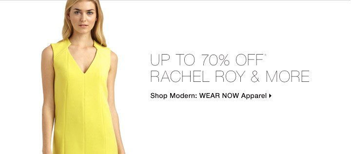 Up To 70% Off* Rachel Roy & More
