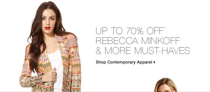 Up To 70% Off* Rebecca Minkoff & More Must-Haves