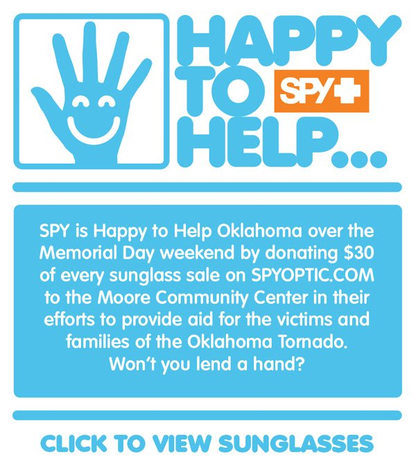 Join SPY In Helping Those In Need This Memorial Weekend!