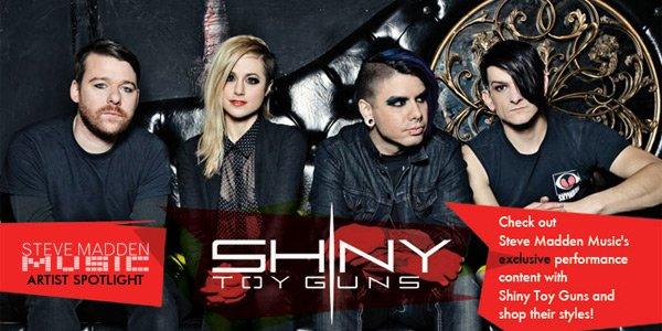Steve Madden Music Artist Spotlight: Shiny Toy Guns
