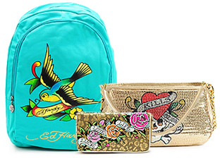 Ed Hardy, Christian Audigier Handbags & Wallets