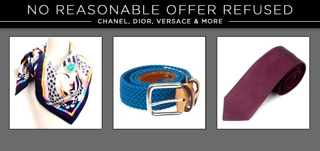 No Reasonable Offers Refused: Chanel, Dior, Versace & More