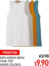 MEN AIRISM TANK TOPS