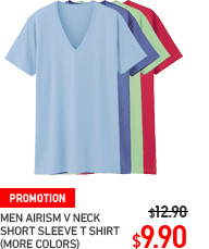 MEN AIRISM V NECK