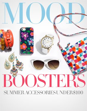 MOOD BOOSTERS - SUMMER ACCESSORIES UNDER $100